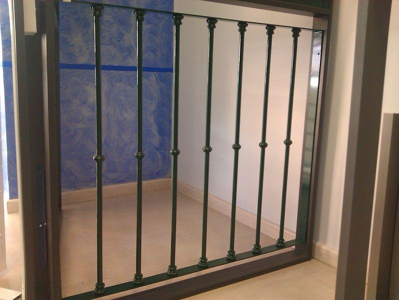 Puertas de rejas de hierro el ltimo diseo puertas for Puertas balcon usadas